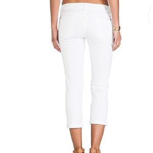 7 for all mankind Skinny Crop& Roll Size 32